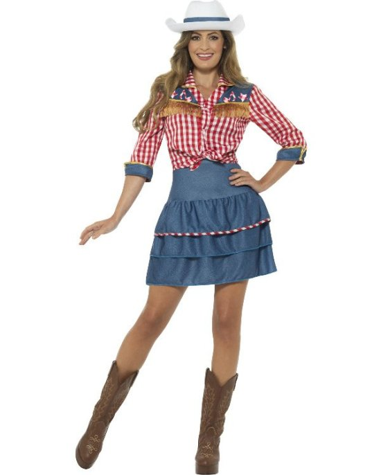 Rodeo Cowgirl kostume