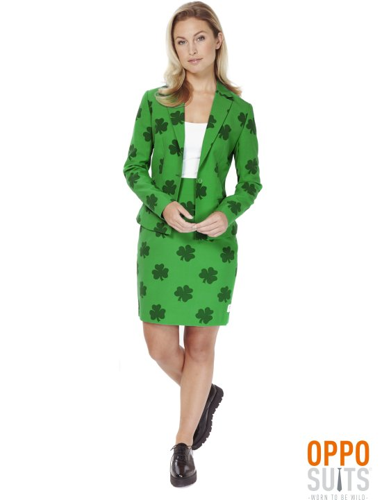 Oppo Suits: St. Patrick's Girl kostume